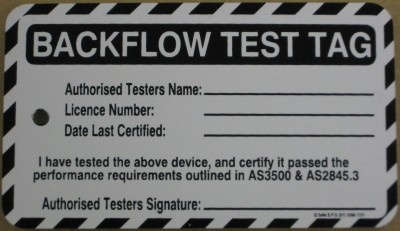 Backflow Testing, Prevention, Maintenance & Installation