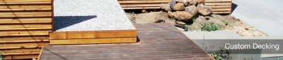 Custom Made Timber Decking Melbourne