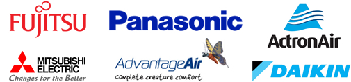 Residential & Commercial Air Conditioning Fujitsu Panasonic ActronAir Mitsubishi AdvantageAir Daikin