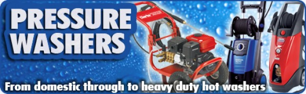 High Pressure Washers & Tools