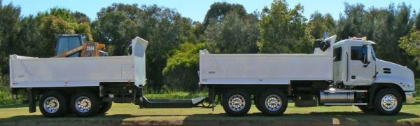 Tipper Truck & Bobcat Hire Perth