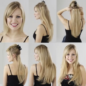 How to apply Ultimate Clip In Hair Extensions