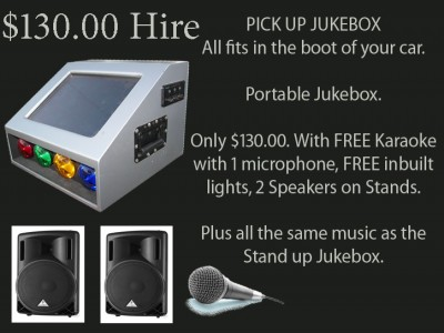 Portable Jukebox & Karaoke Melbourne