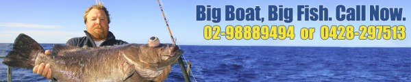 Deep Sea Fishing & Fishing Charters Sydney