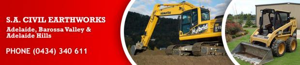 Excavator Bobcat & Tipper Hire Adelaide Hills