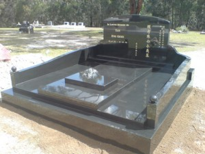 Gold coast stonemasons headstones memorials water for Outdoor furniture yatala