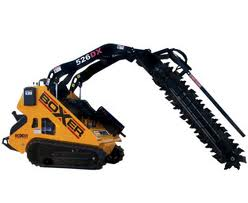 Trenching & Post Hole Digger Mini Loader