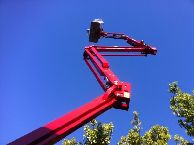 Spider Lift Hire Melbourne