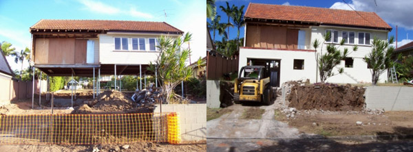 House Lifting, Raising, Restumping &  Releveling