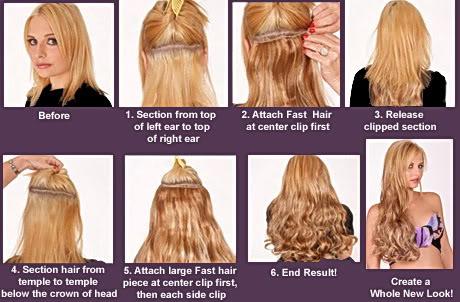 Clip In Hair Extensions Gold Coast Australia