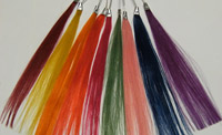 Coloured Hair Extensions Colour Selection