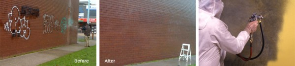 Graffiti Removal, High Pressure Cleaning & Protective Coatings Melbourne