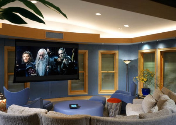 Lounge Room Theatre Projector