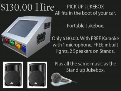 Portable Jukebox & Karaoke Melbourne