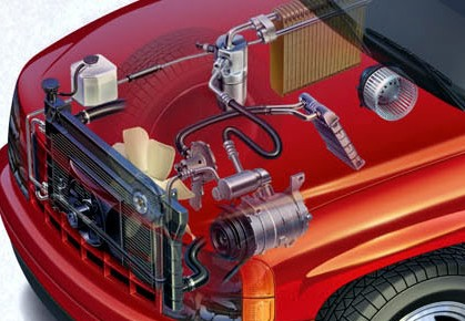 Car Air Conditioning Service, Repair & Regas