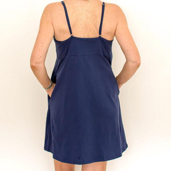 BJs PJs Kylie Cami Dress Marine Deep Blue 2