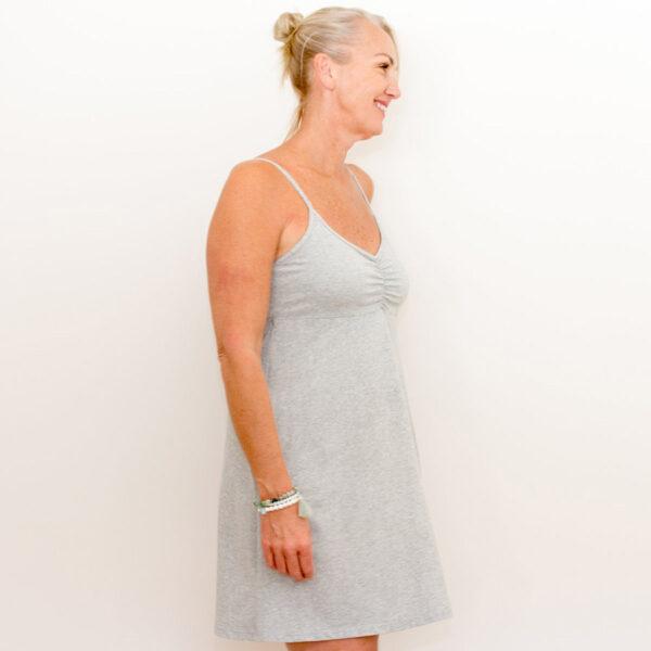BJs PJs Kylie Cami Dress Marle Grey 2
