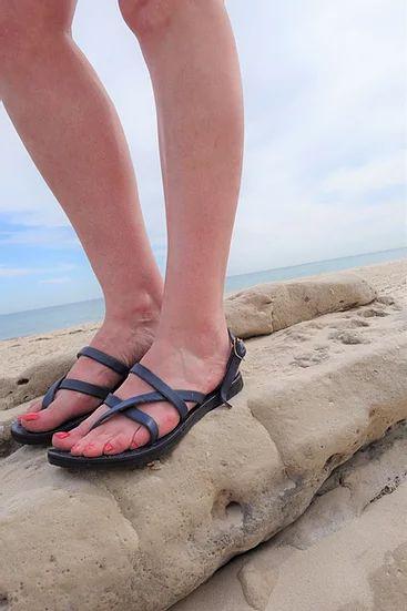 Pania Sandal, Adjustable Leather Strap 3