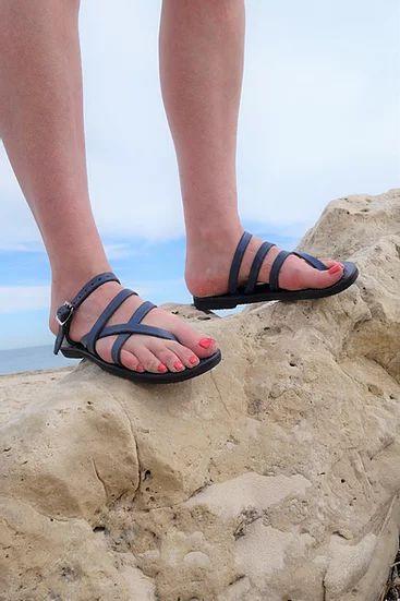Pania Sandal, Adjustable Leather Strap 7