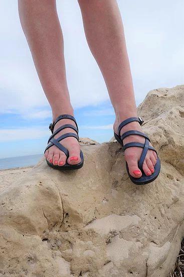 Pania Sandal, Adjustable Leather Strap 8