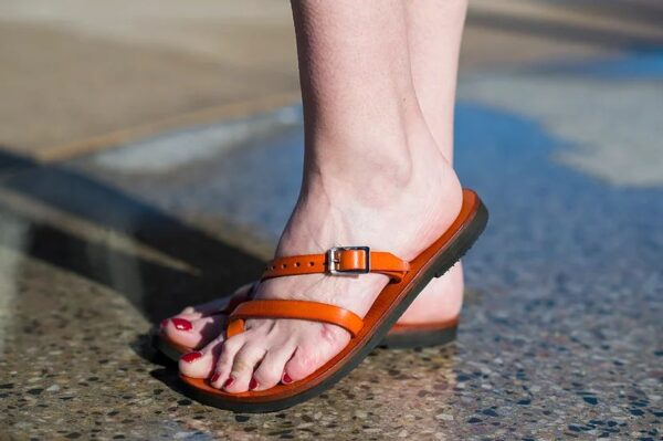 Aditi Sandal Orange 1