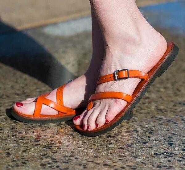 Aditi Sandal Orange