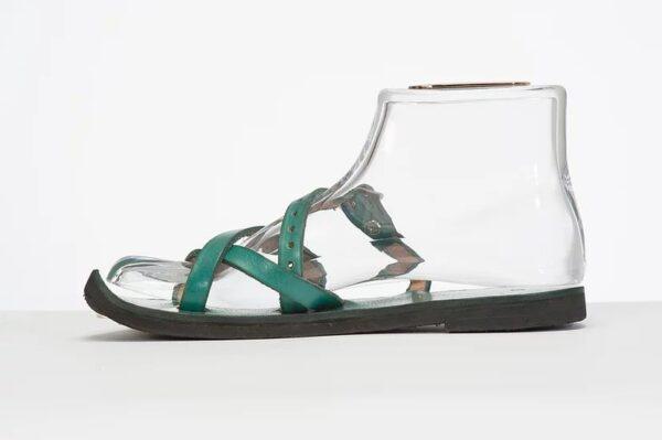 Aditi Sandal turquoise