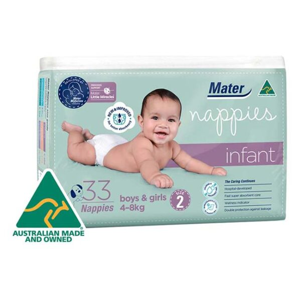 Mater Infant Nappies 33 Pack