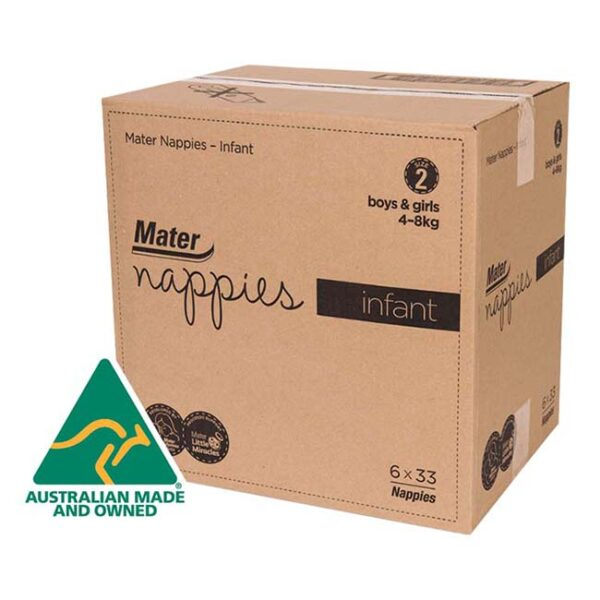 Mater Infant Nappies Carton