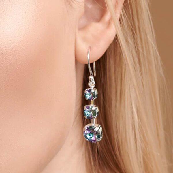 Melinda Crystal Earrings