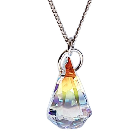 Raindrop Crystal Pendant