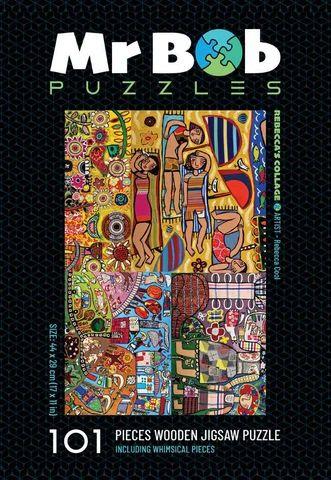 Rebecca's Collage Jigsaw