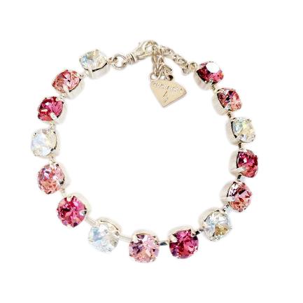 Swarovski® crystal tennis bracelet