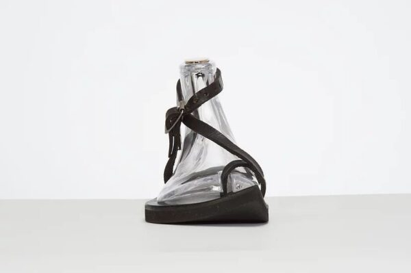 Venus Sandal - Adjustable Leather Sandal Black 3