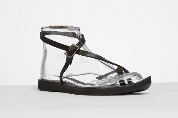 Venus Sandal - Adjustable Leather Sandal Black 4