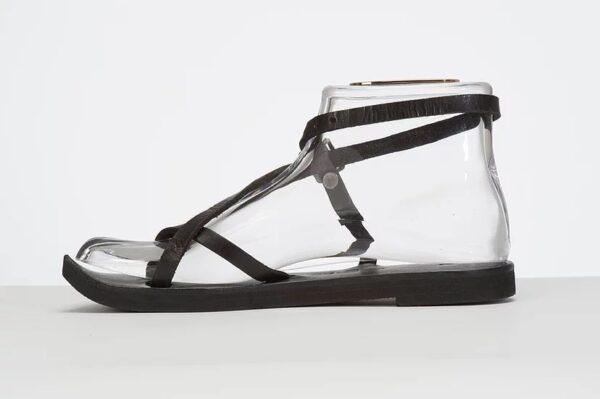 Venus Sandal - Adjustable Leather Sandal Black