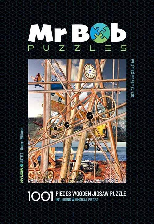 Xylem 1001 Piece Timber Jigsaw Puzzle