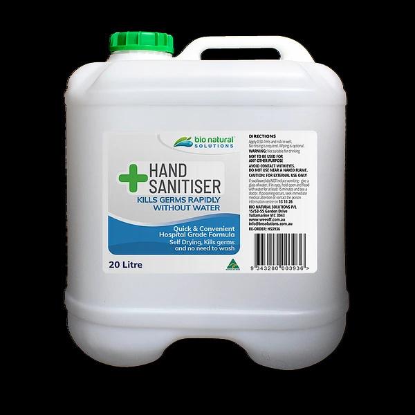 bulk hand sanitiser 20litre