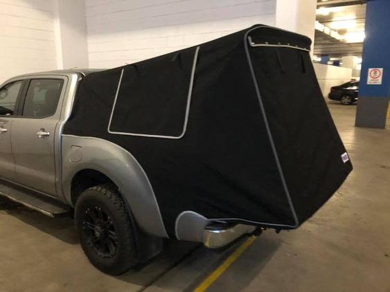 Twin Cab Camper Van
