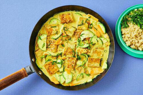 Dinner Tofu Curry