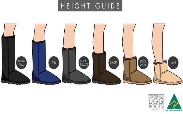 Ugg Boot Height Guide